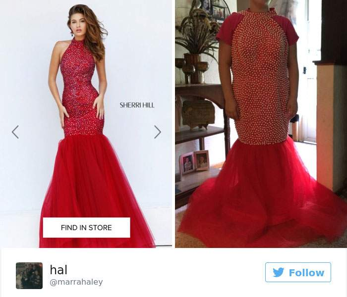 Šaty z e-shopu